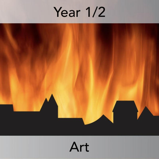 PlanBee Great Fire of London Art Ideas | PlanBee KS1 Art Lesson