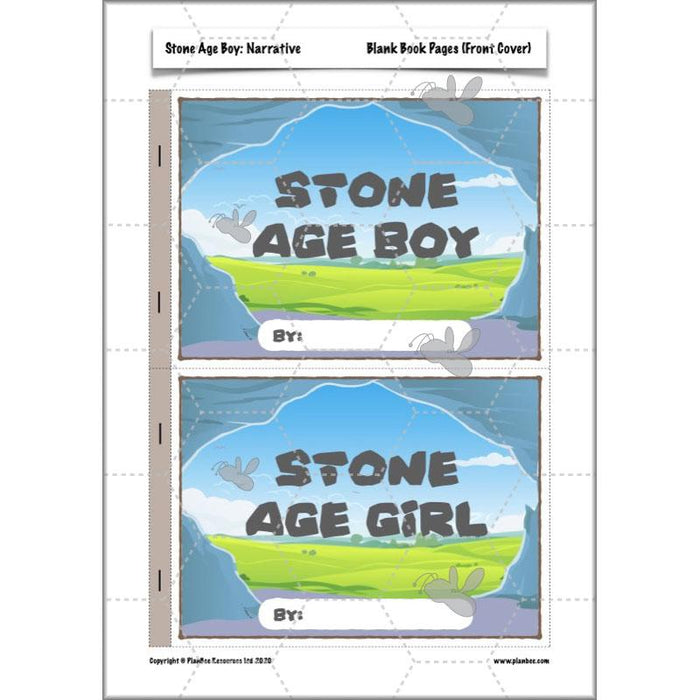 PlanBee Stone Age Boy Planning Year 3 English Lessons