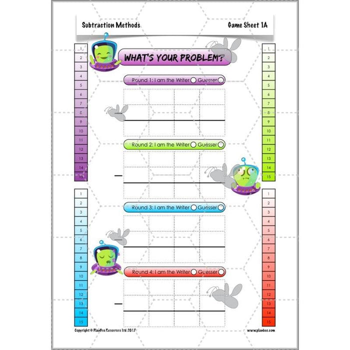 PlanBee Subtraction Methods - KS2 - Year 5 Maths - Addition and Subtraction