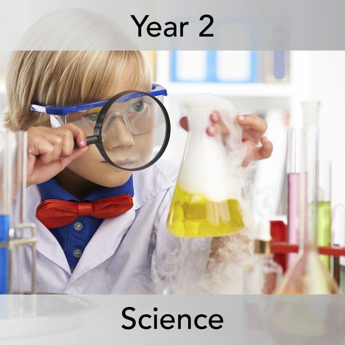 PlanBee Super Scientists Year 2 Working Scientifically | PlanBee
