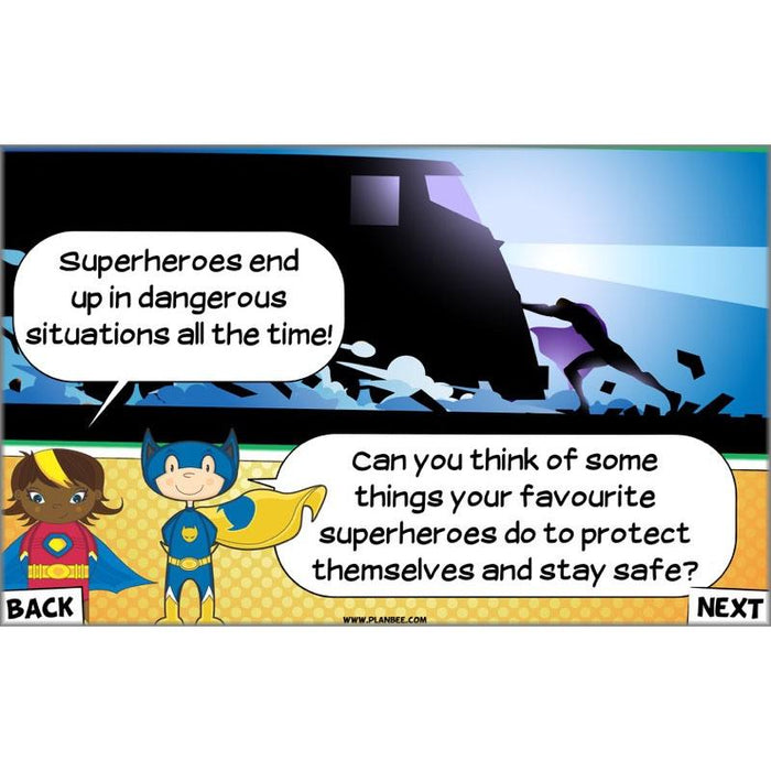 PlanBee Superheroes KS1 Cross-Curricular Topic Planning by PlanBee