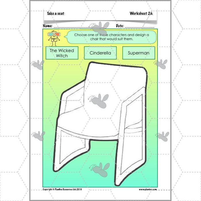 PlanBee Take a Seat - Designing Chairs | KS2 Primary Art Lessons from PlanBee