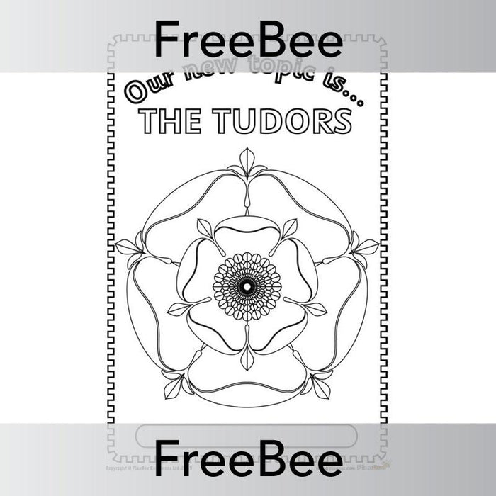 PlanBee The Tudors Topic Cover | PlanBee FreeBees