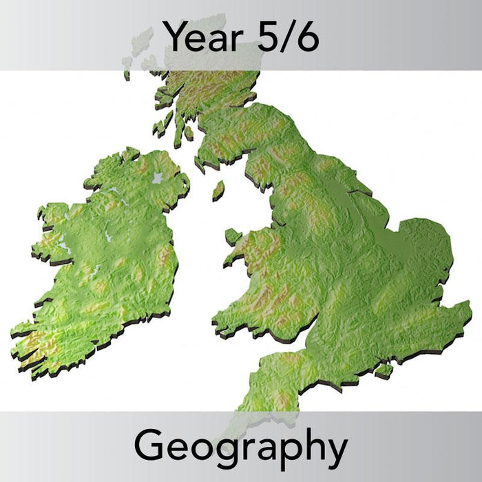 PlanBee The United Kingdom KS2 Planning Pack | Year 5 and Year 6 Geography