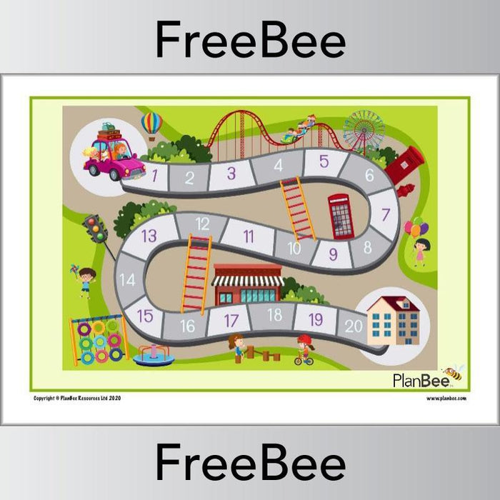 PlanBee FREE Educational Games Pack