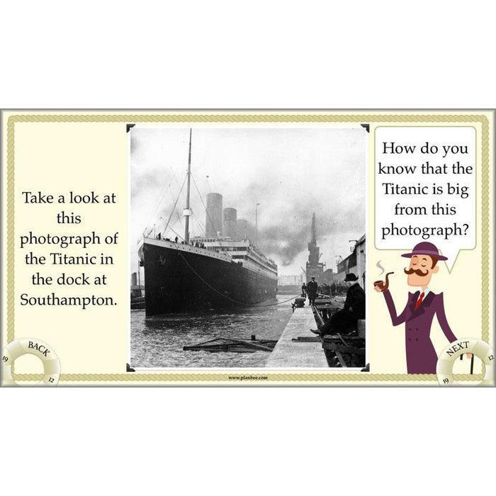 PlanBee KS2 Titanic Lesson Plans and Resources by PlanBee