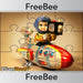 PlanBee Toys Past and Present Reward Jigsaw | PlanBee FreeBees
