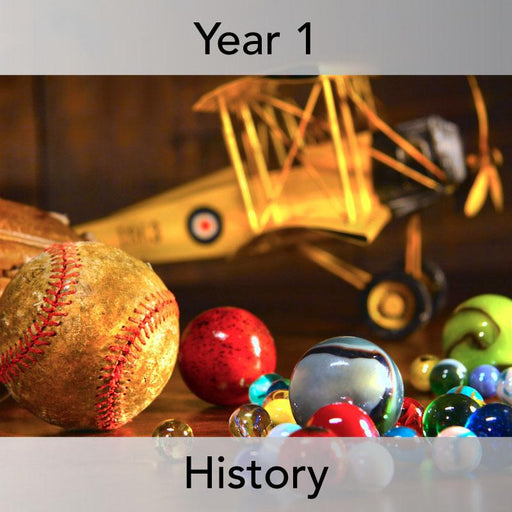 PlanBee Toys in the Past KS1 History Planning Year 1 | History of Toys Lessons