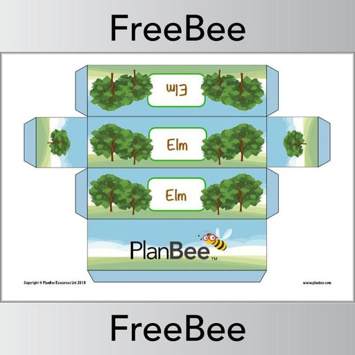 PlanBee Tree Group Name Labels | PlanBee FreeBees