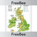 PlanBee FREE UK Mountains KS2 Poster | Geography Resources