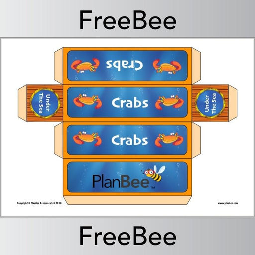 PlanBee FREE Under the Sea Group Name Labels | PlanBee