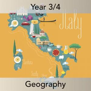 PlanBee Italy Today: Year 3 & Year 4 Geography scheme of work for KS2