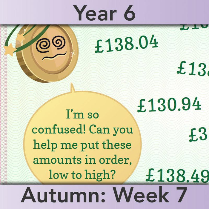 PlanBee Using Money - Complete Year 6 Maths Planning - Measurement