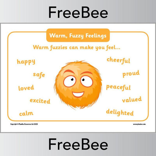PlanBee Warm Fuzzies and Cold Pricklies Poster by PlanBee