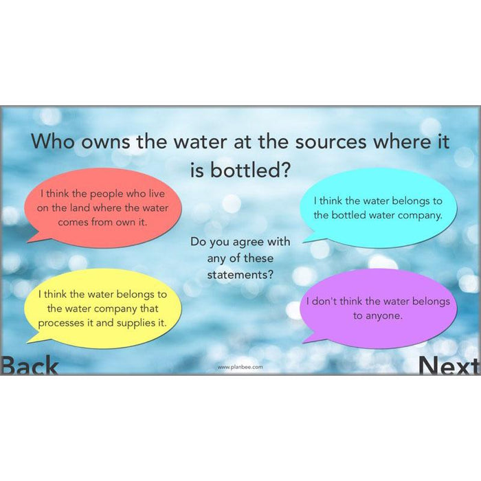 PlanBee Water Topic KS2 Water in our World Lessons by PlanBee