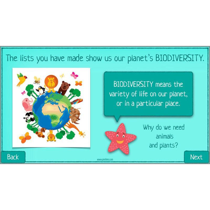 PlanBee Biodiversity KS2 ESR Lesson What is Biodiversity? by PlanBee