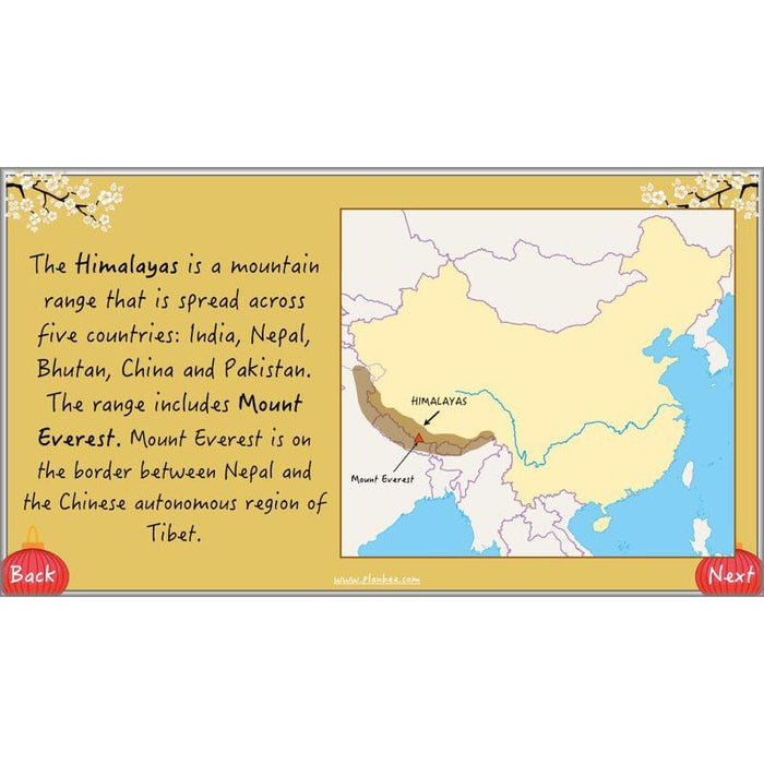 PlanBee China KS2 Geography Lesson Planning Pack for Year 5 & 6