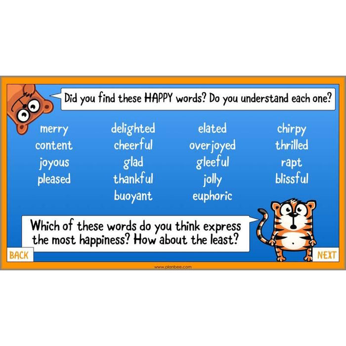 PlanBee What is Happiness? KS2 ESR Lessons by PlanBee