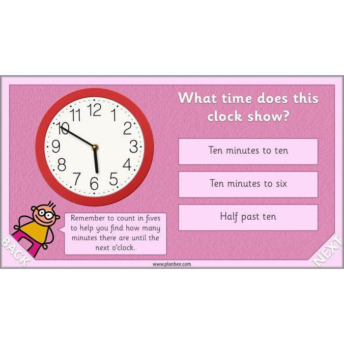 PlanBee Time Year 2 | What time is it? Maths Lessons for KS1