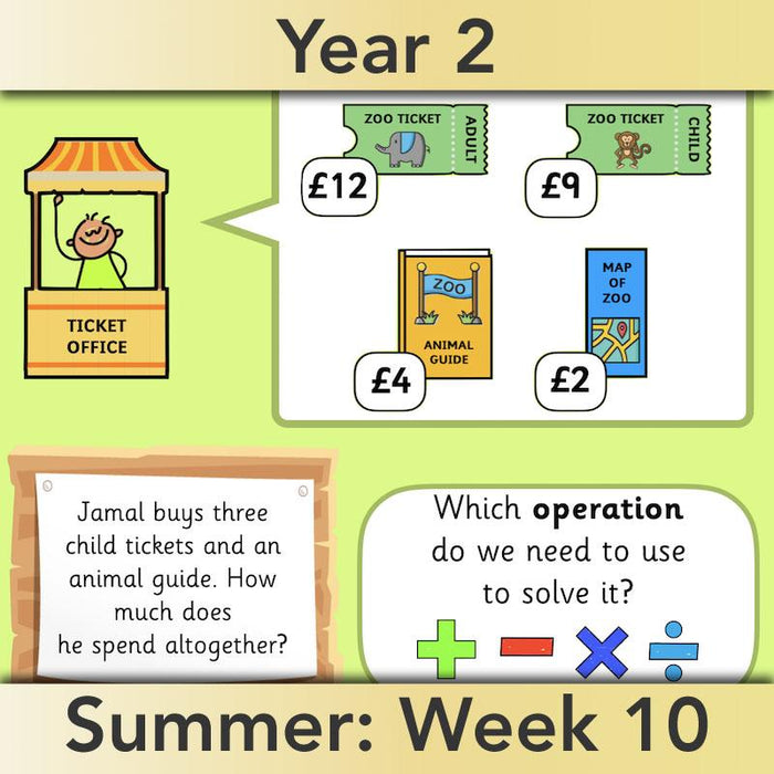 PlanBee What's the answer? Year 2 word problems | PlanBee