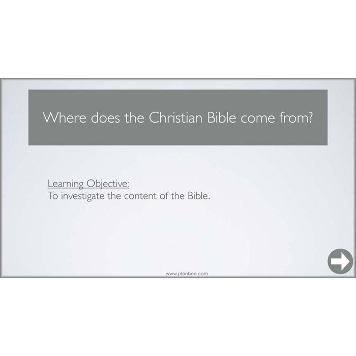 PlanBee The Christian Bible: A Compact Library | PlanBee