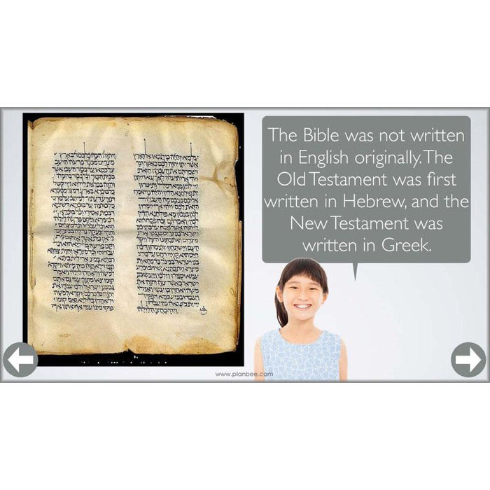 PlanBee Where did the Christian Bible come from? | Complete Series