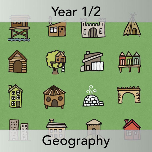 PlanBee Who Lives Here? Geography scheme of work for KS1 Year 1 & Year 2
