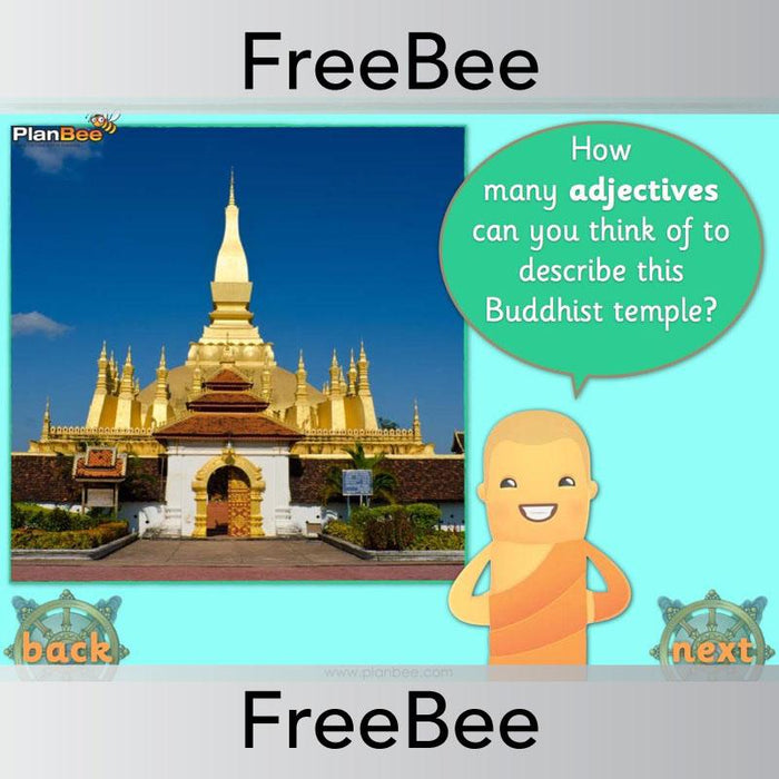 PlanBee Buddha Themed Brain Teasers | PlanBee FreeBees