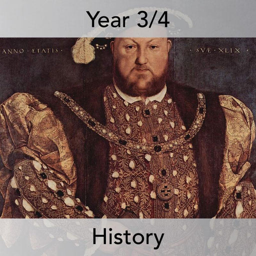 PlanBee Henry VIII KS2 History Lesson Plan Pack for Year 3 & Year 4