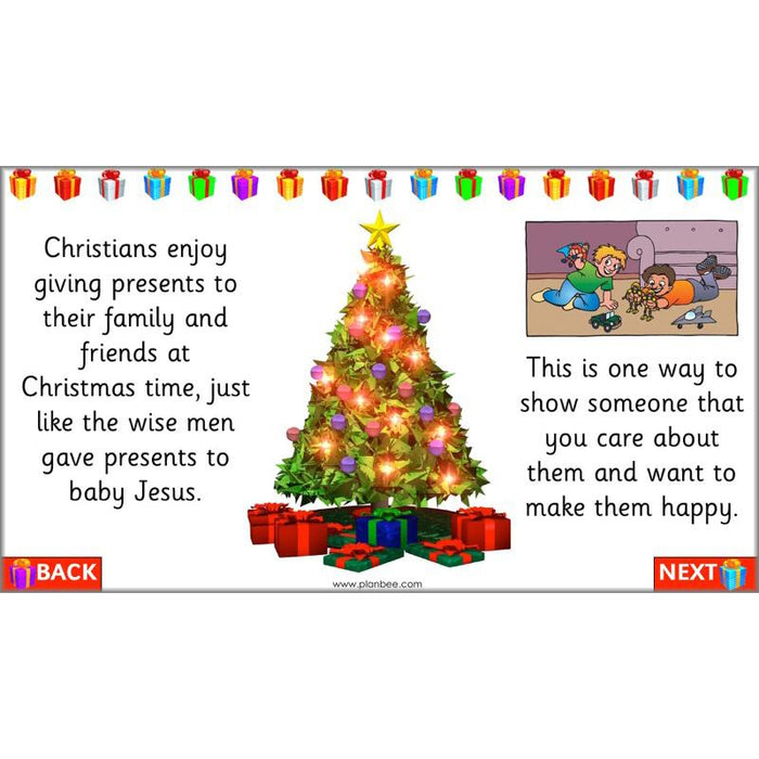 Why do Christians give gifts at Christmas?