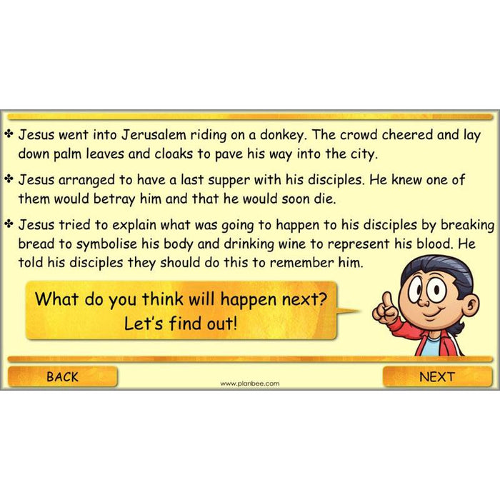 PlanBee The Garden of Gethsemane Lesson Plan Pack | KS2 RE Year 4