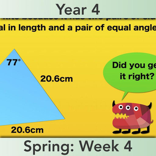 PlanBee Shape Angles Year 4 Shape Properties Lesson | PlanBee