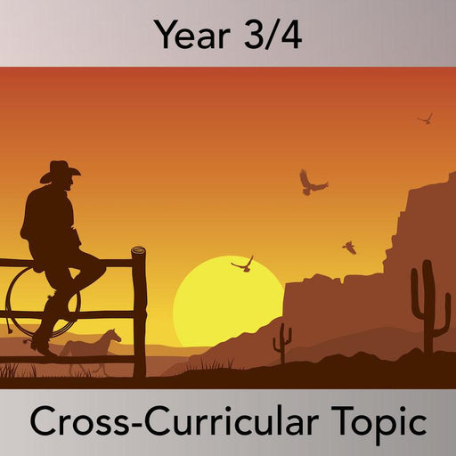 PlanBee Wild West History KS2 Cross Curricular Topic | PlanBee