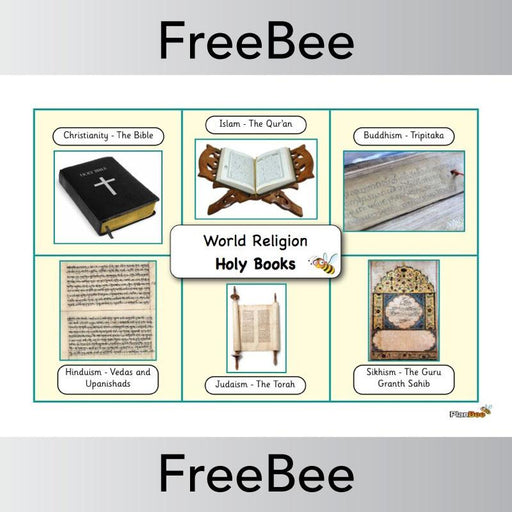 PlanBee World Religions Word Bank | PlanBee FreeBees