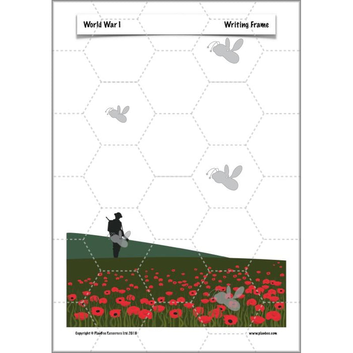 PlanBee World War 1 KS2 History for Year 5 and Year 6 by PlanBee