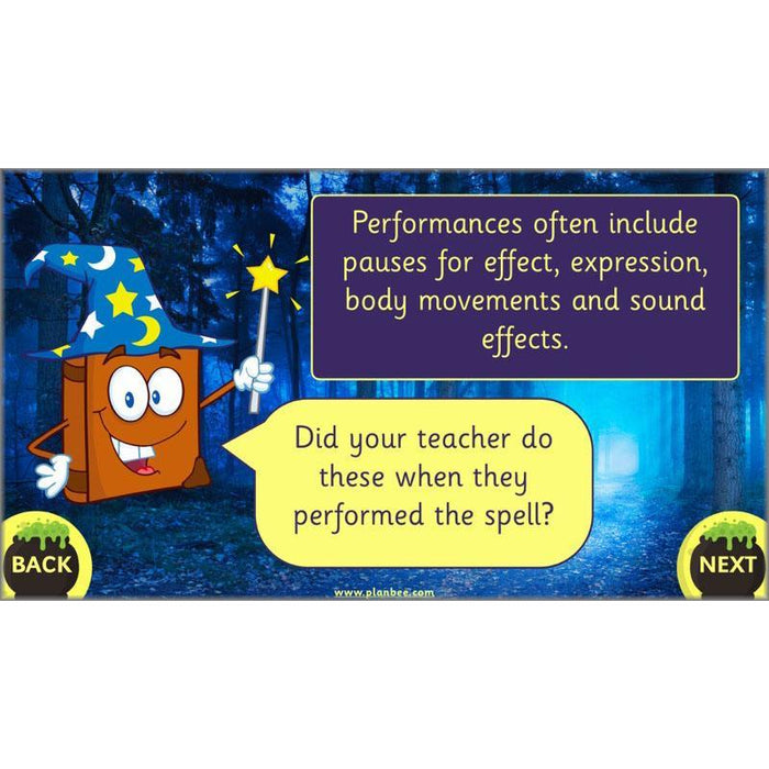 PlanBee Magic Spell Writing KS1 Year 1 English by PlanBee