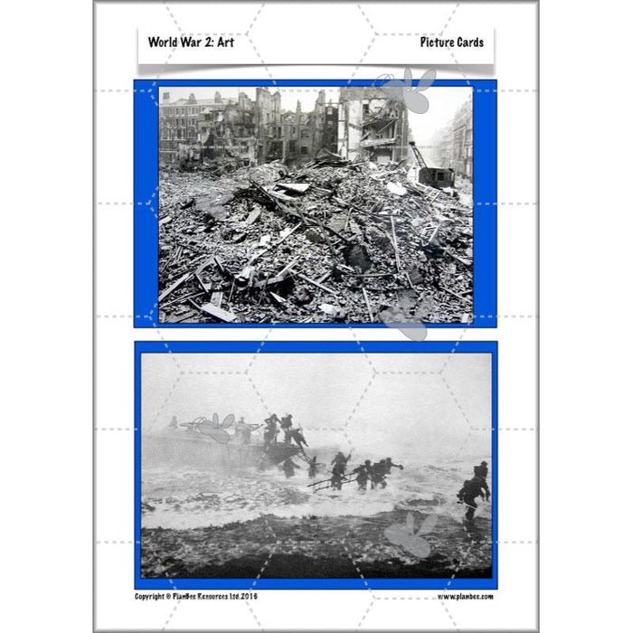 PlanBee KS2 World War 2 Topic | Lesson Planning & Resources for Year 3 & 4