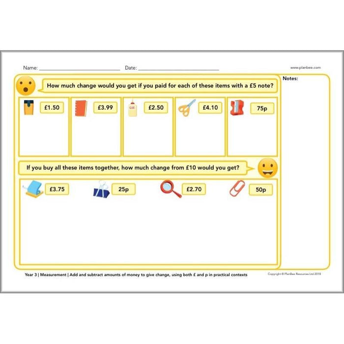 PlanBee KS2 Maths Assessment - Maths Teaching Resources from PlanBee