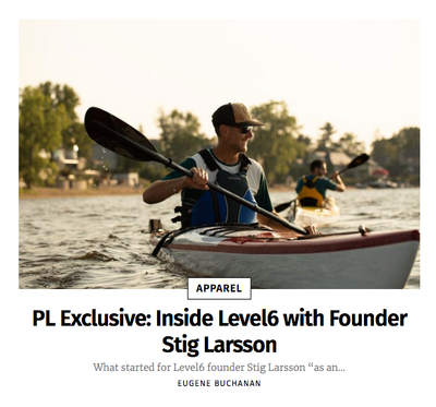 Paddling Life Exclusive: Inside Level Six with Founder Stig Larsson