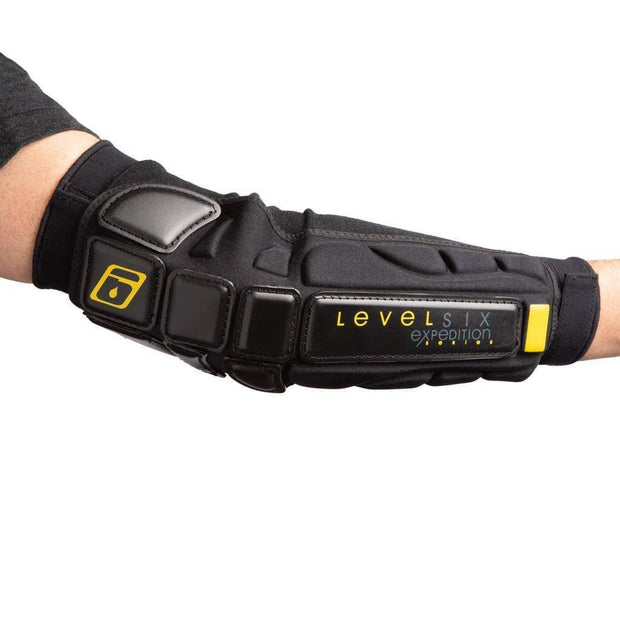 Armor-All Elbow Protection Safety Black Level Six