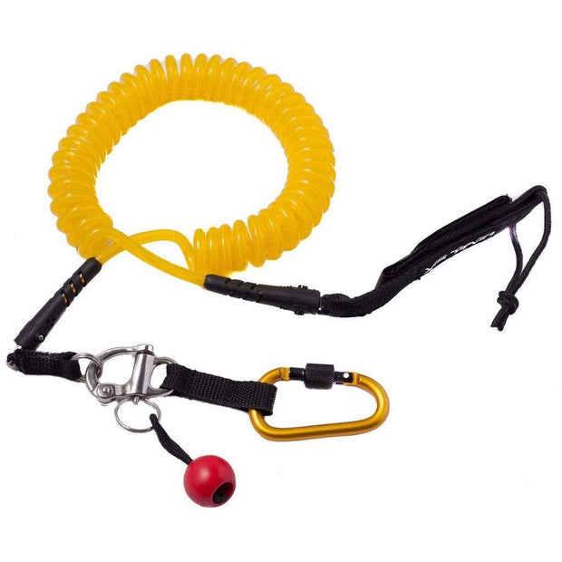 Quick Release SUP Leash - Coil SUP Accessories Level Six