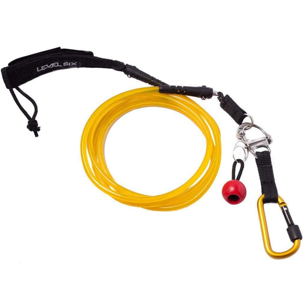 Quick Release SUP Leash - Straight SUP Accessories Level Six