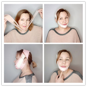 Face Slim V-Line Lift Up Mask Cheek Chin Neck Slimming Thin Belt Strap
