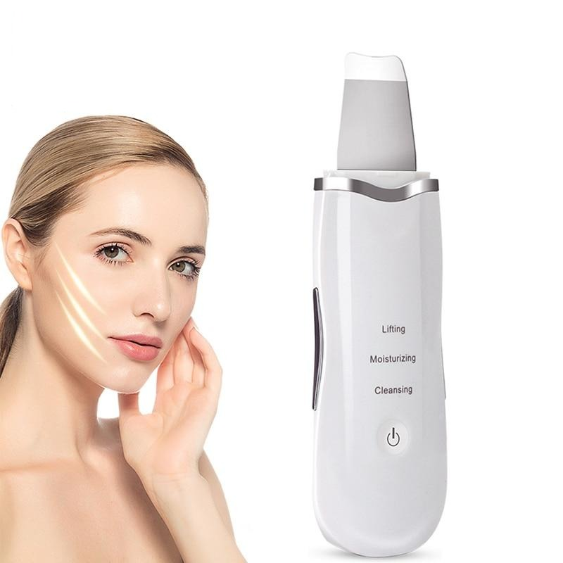 Ultrasonic Face Cleaning  Skin Scrubber Pore Cleaner Face Scrubber