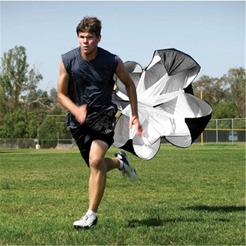Blue Song Speed Training Running Parachute Soccer Fitness Equipment