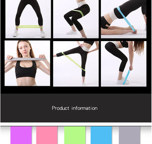 High Elastic Ring Resistance Band Pull Ring Beautiful Buttocks Yoga