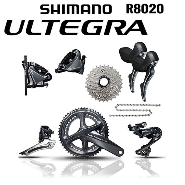 Shimano 2018 Ultegra R8020 Mechanical Groupset 11 Speed Hydro Disk