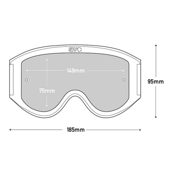 Spy+ Optics Woot / Woot Race Replacement Lens