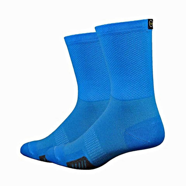 DeFeet Cyclismo w/DeFeet Tab Cycling Running Socks - Blue