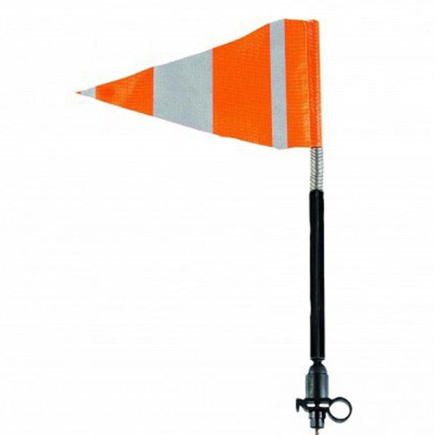 High Visibility Reflective safety flag short